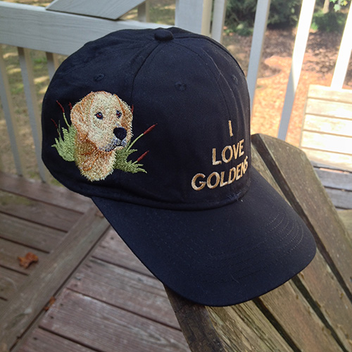 i-love-golden-hat-with-dog