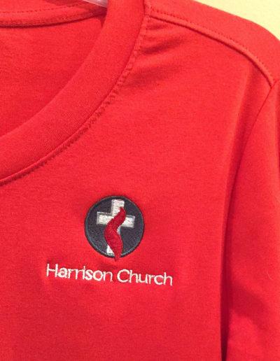 Church Logo Embroidery NC