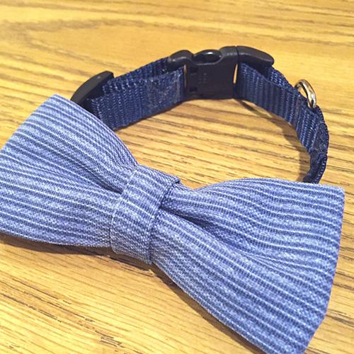 Dog Bowtie Custom Fabric