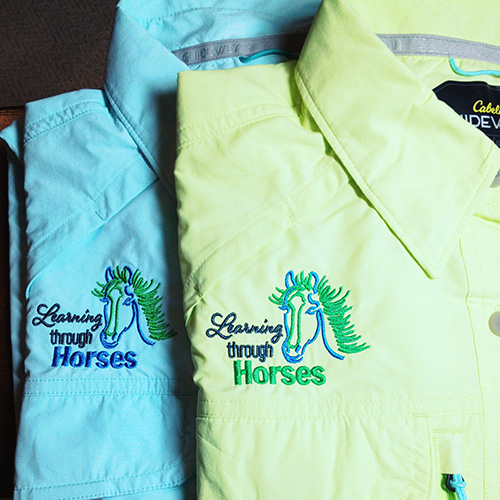 Horse Embroidery Shirt